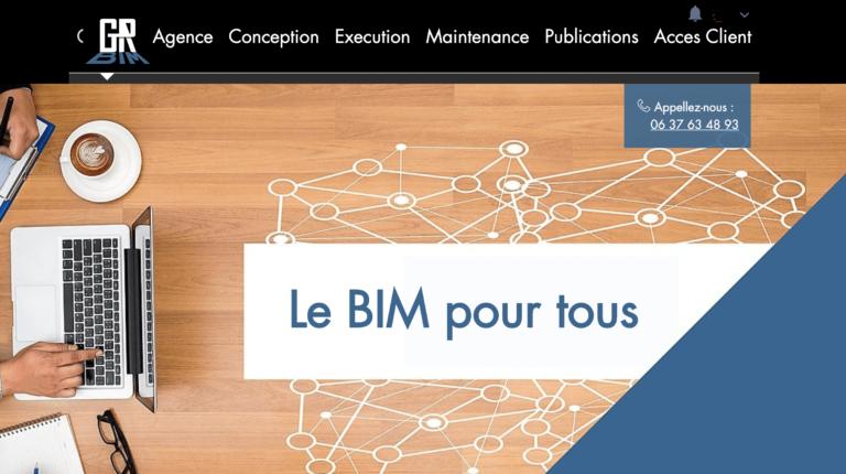 Audit et Refonte de site GR BIM sur WIX