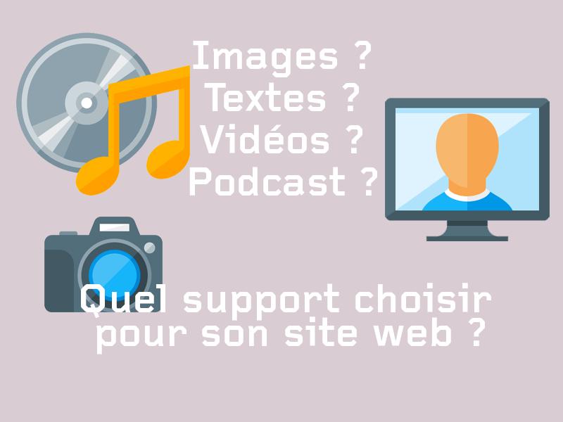 Image, texte video, quel.s média.s choisir ?