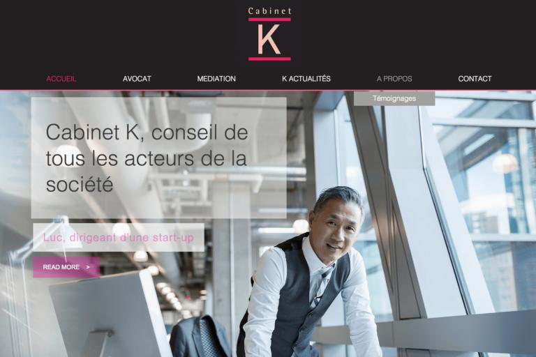 Refonte blog Cabinet K